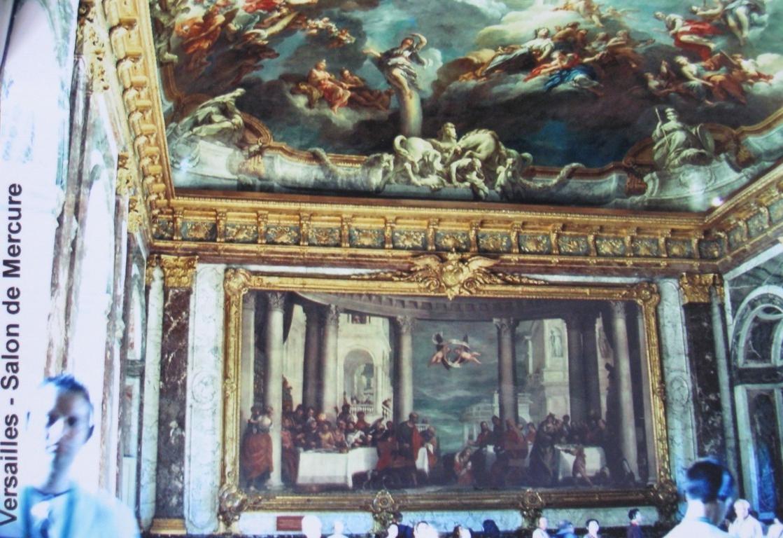 Salon im Chateau Versailles