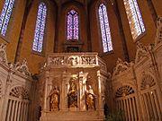 Chor im Saint Pierre