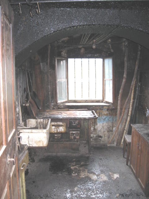 die alte Küche