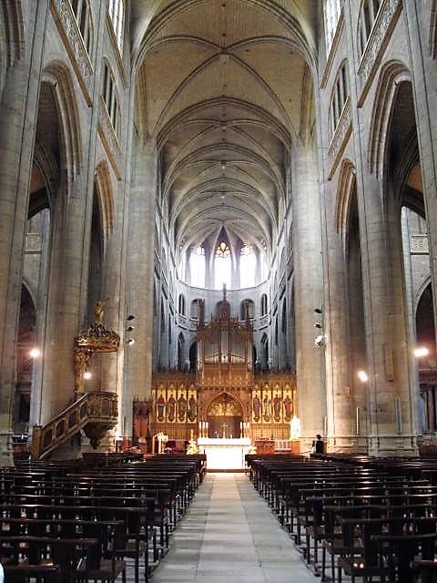 in der Kathédrale Sainte-Marie