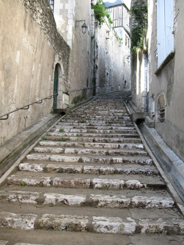Treppenaufstieg zur Kathedrale