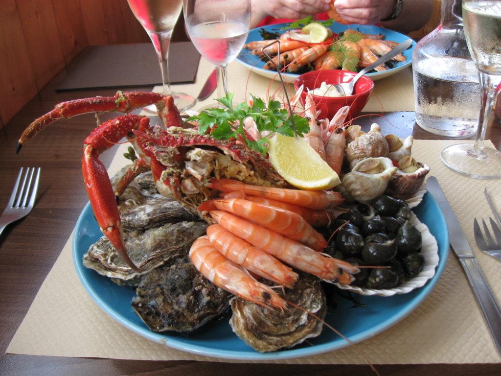 Köstlichkeiten des Meeres