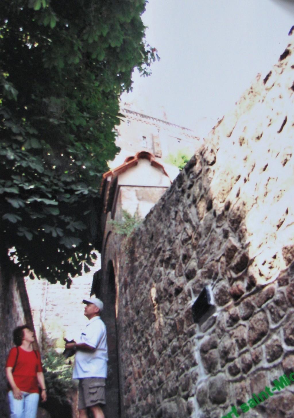 das Dorf Saint-Michel