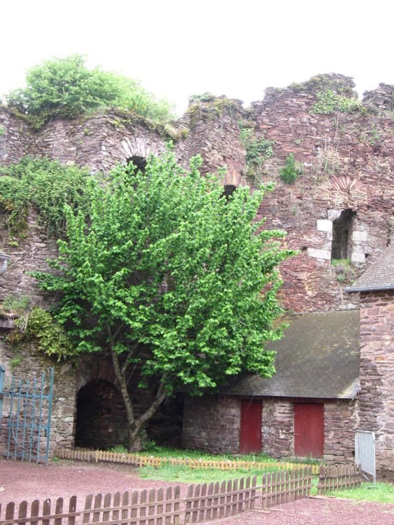Eingang zum Schloss von Comper