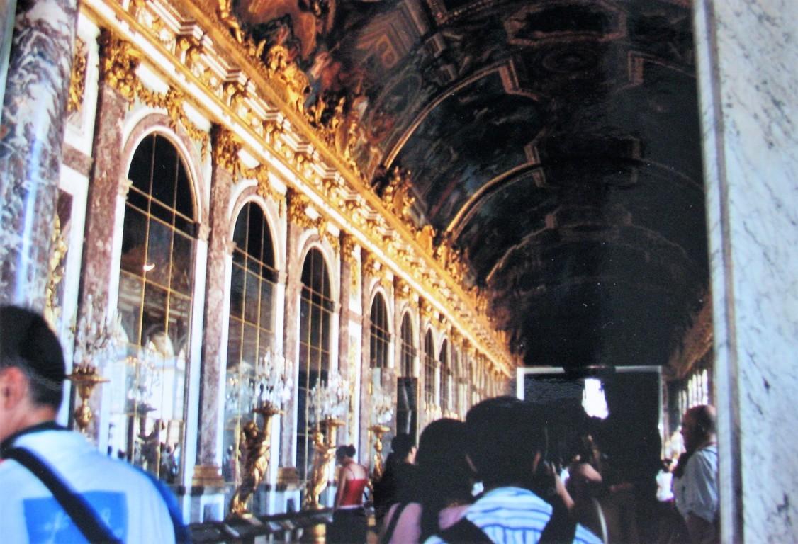 Spiegelsaal im Chateau Versailles