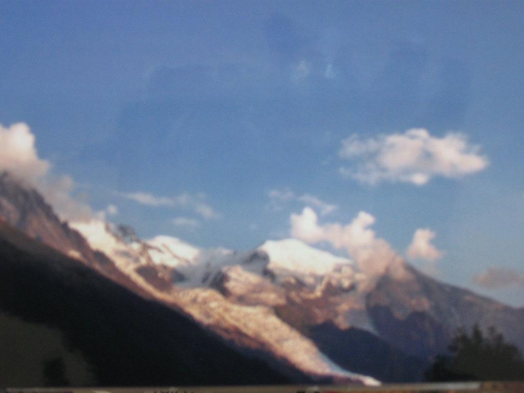 Blick auf den Monte Blanc