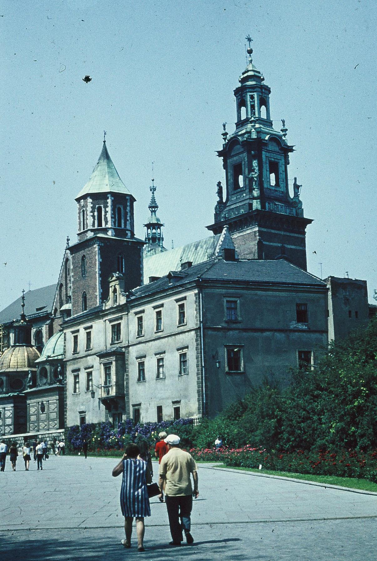 die Wawel (ehem. Königsschloss)
