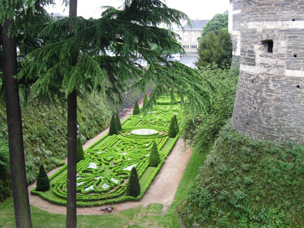Burggraben der Burg von Angers