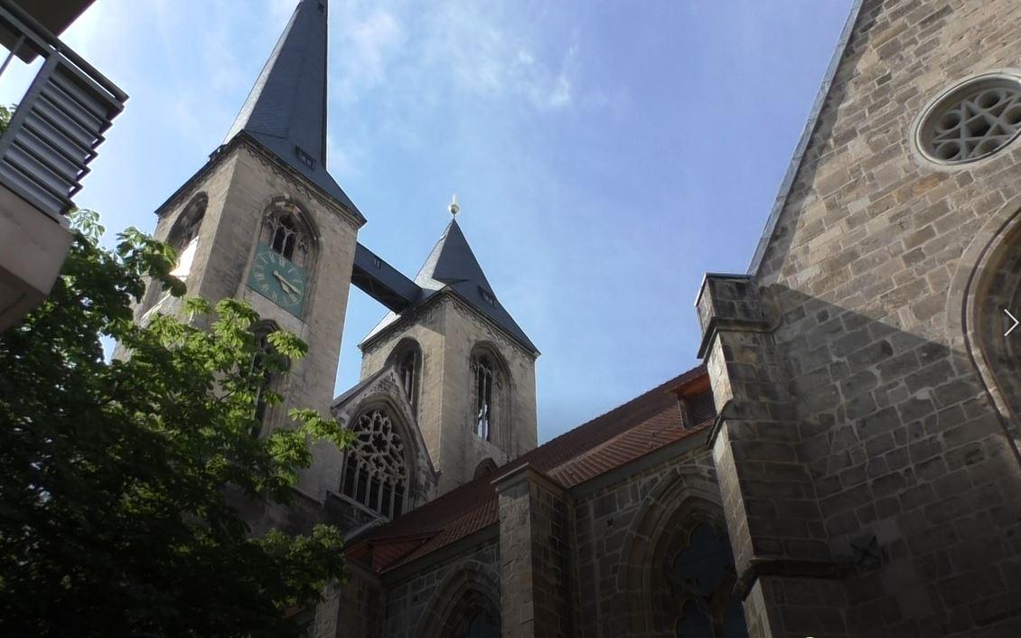 Kirche St. Martini mit Zwillingtürmen