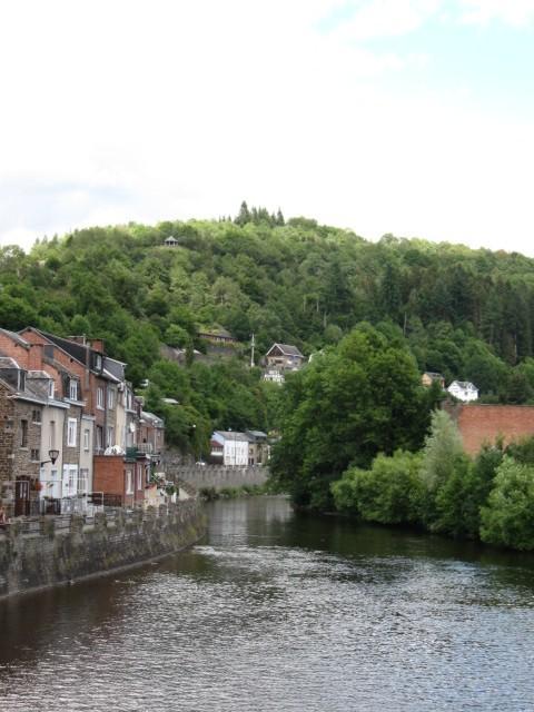 der Ourthe in La Roche-en-Ardenne