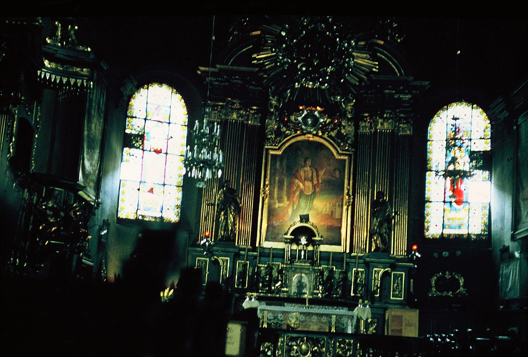 Altar in der Marienkirche