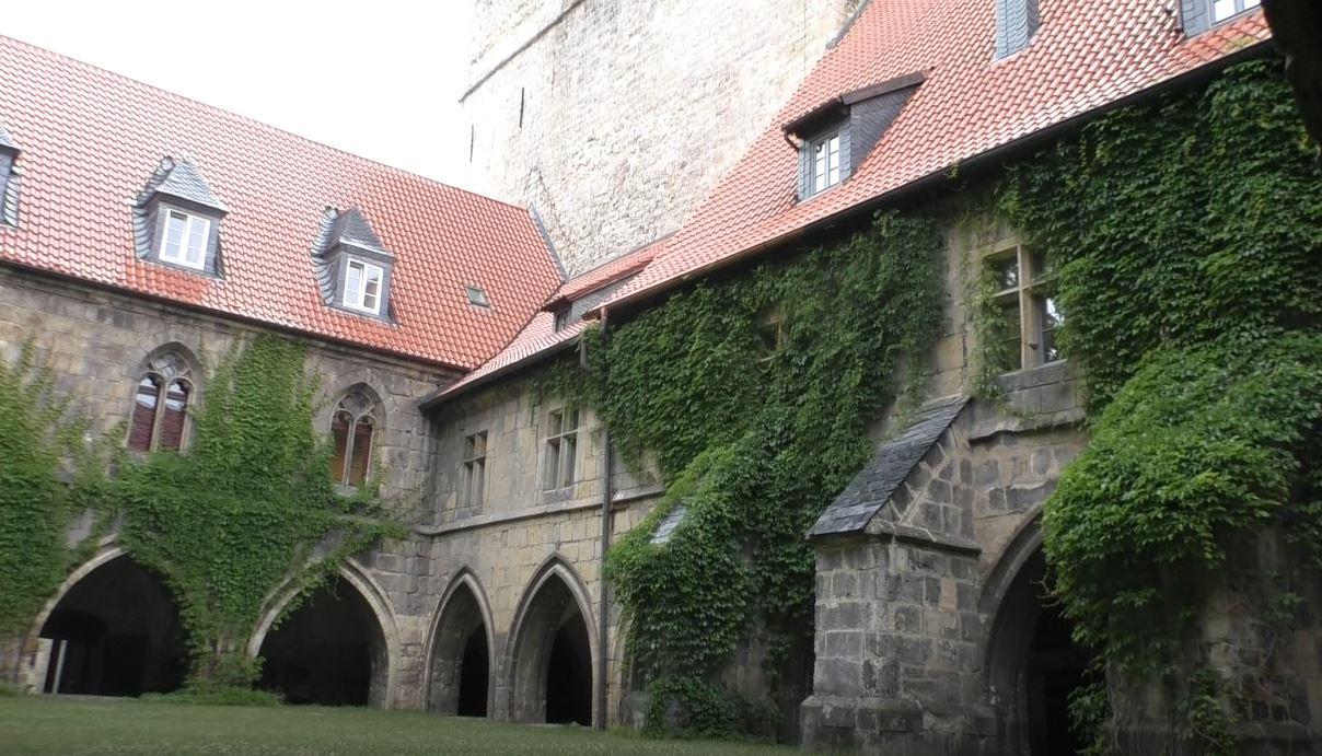 Bischofspalast Innenhof