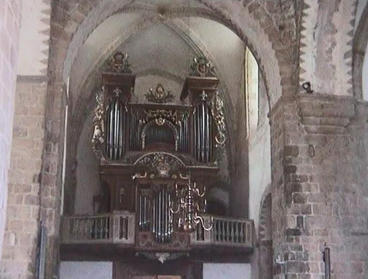 Orgel in der Abteikirche