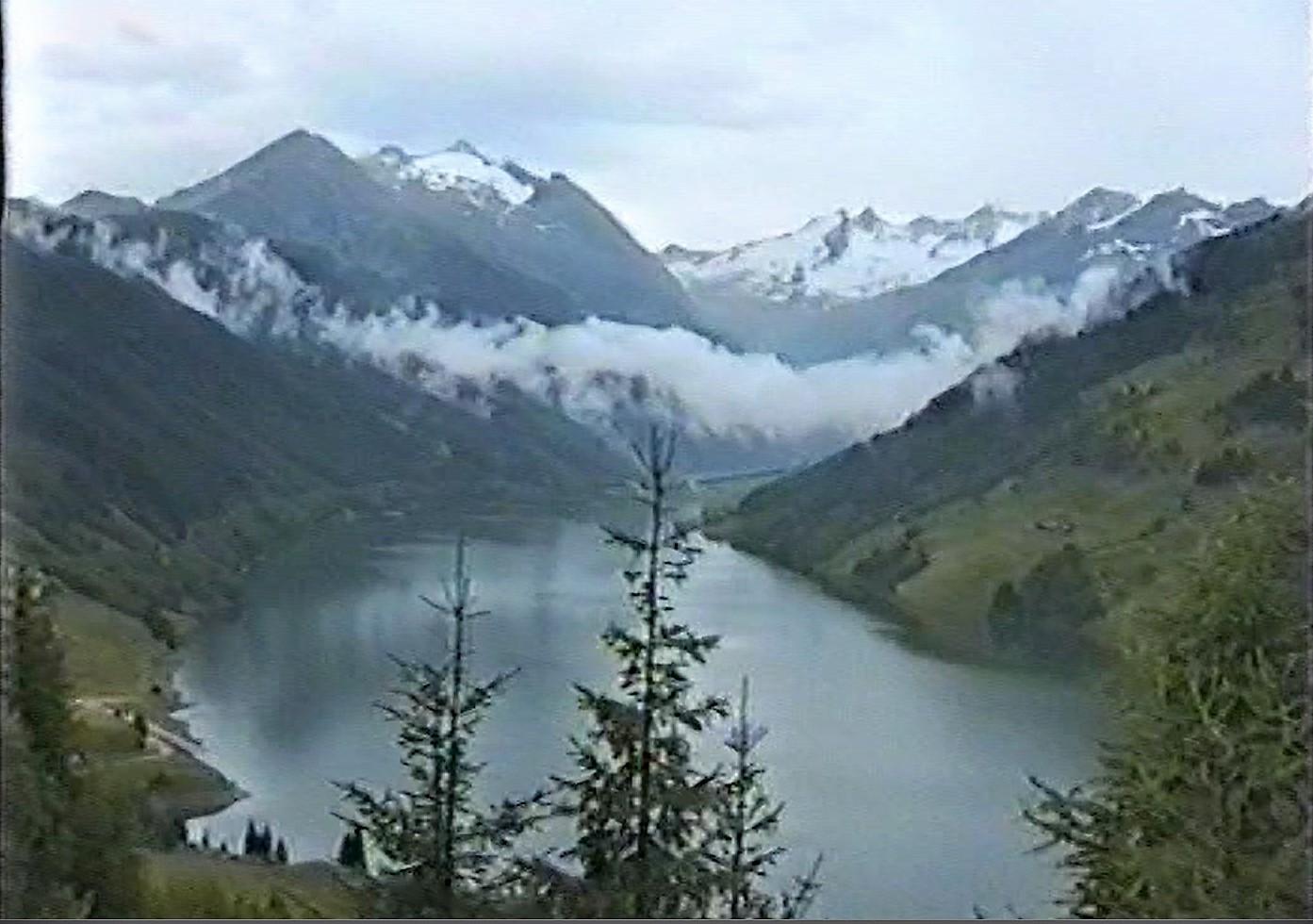 Rückblick auf die Alpen
