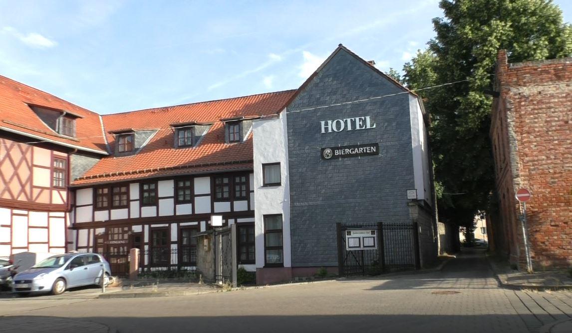 Hotel mit Biergarten