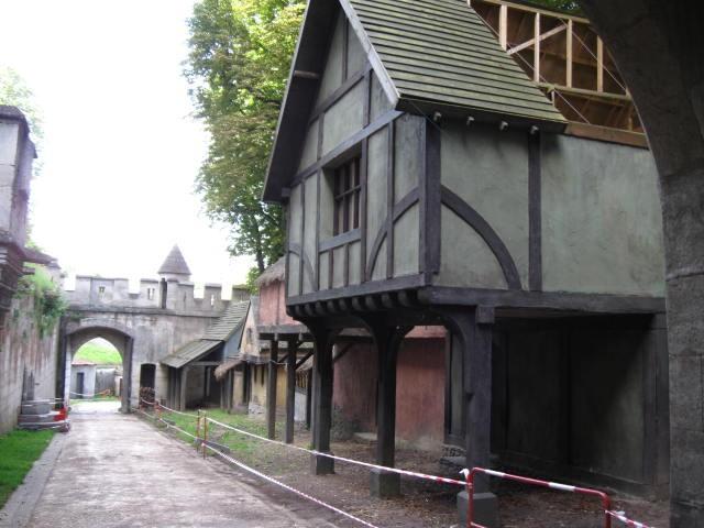 Aufgang zum Chateau