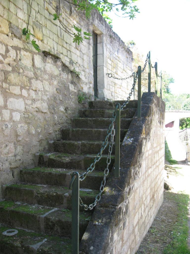 alte Seitentreppe