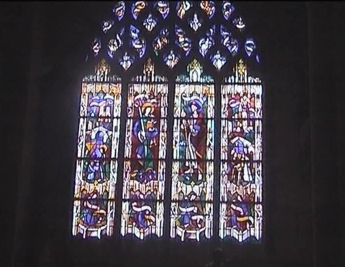 faszinierende Kirchenfenster