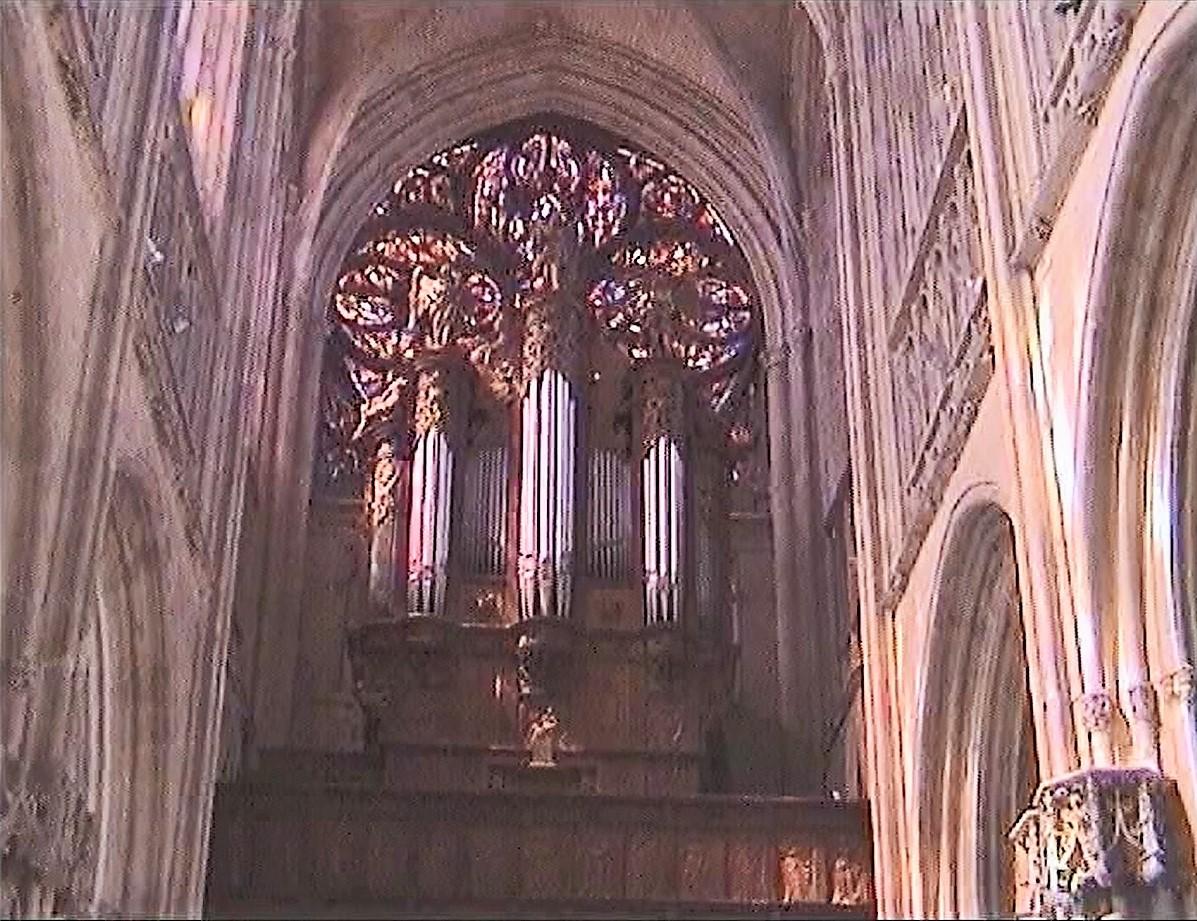 die Orgel in Saint-Germain