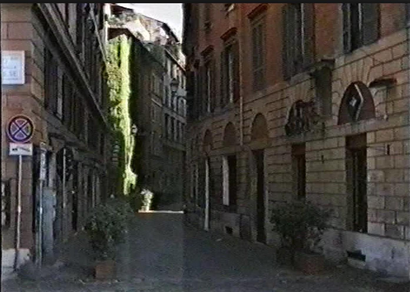 die Gassen von Rom