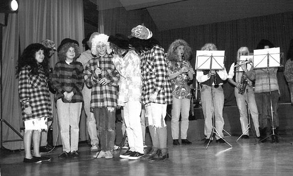 Jungbläser am Chränzli 1993