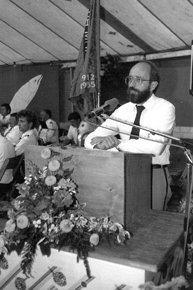 Präsident Hans Dubach