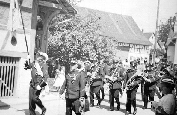 Musikfest Andelfingen 1936