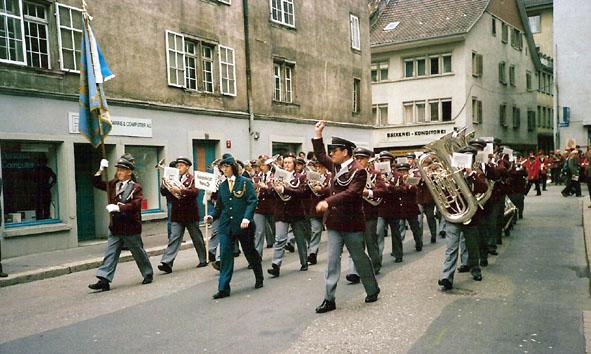 Eidg. Musikfest Winterthur 1986