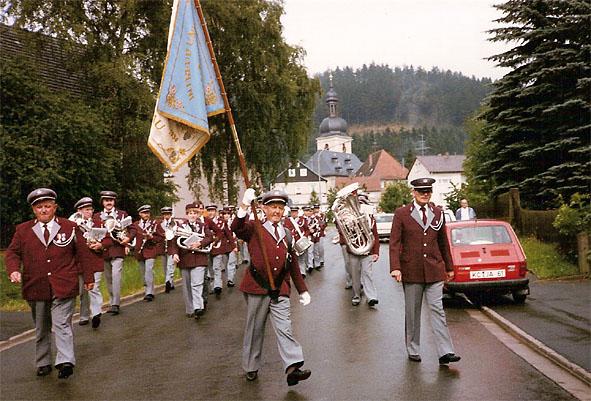 Einzug in Glosberg 1985