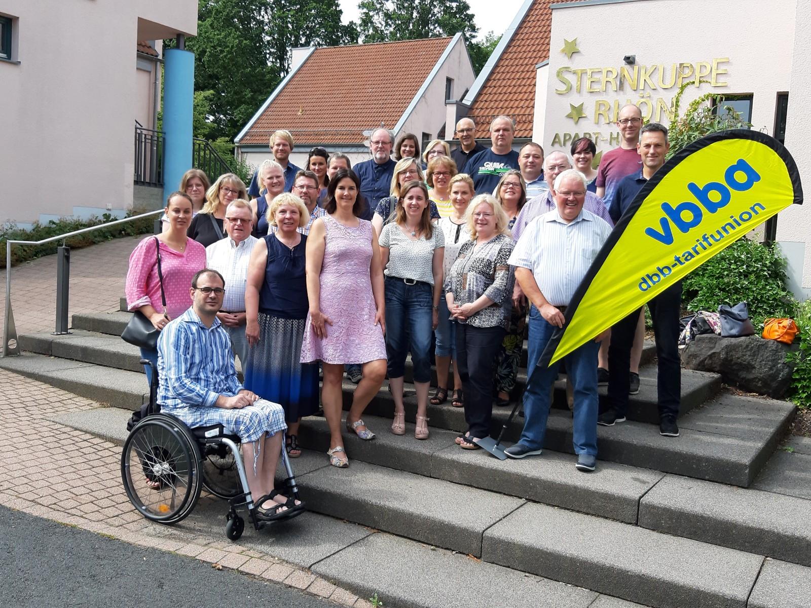 Die Teilnehmer des LGT 2019 in Gersfeld/Röhn