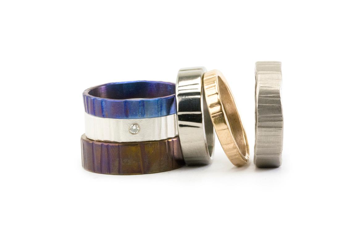 Alianzas Tezdura: plata, oro rojo, platino, titanio, paladio...