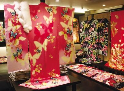 日本の伝統文化である「きもの」