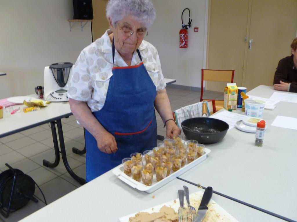 Cécile nous présente ses verrines foie gras aux poires