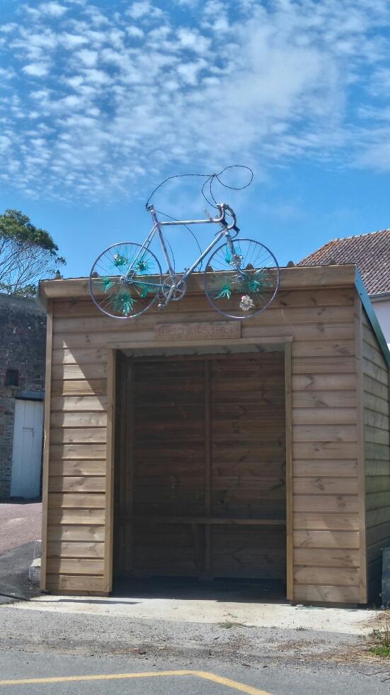 Vélo de Baby customisé par Béatrice Roumy