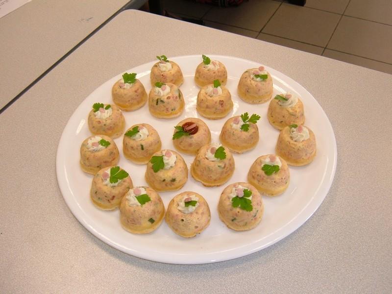 Minis dômes jambon
