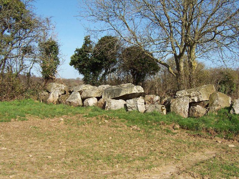 l'allée couverte, site mégalithique