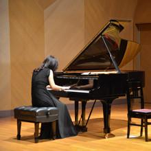2012年11月に開催したリサイタルの様子(ムラマツリサイタルホール新大阪にて)