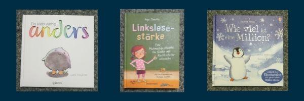 Bücher für Kinder zu unseren Kernthemen