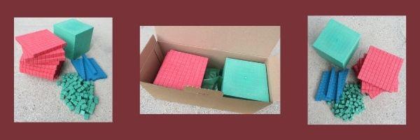 NEU: Dienes-Material in Montessorifarben
