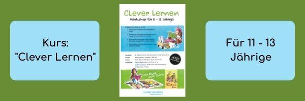 "Empfehlung: Kurs ""Clever Lernen"""