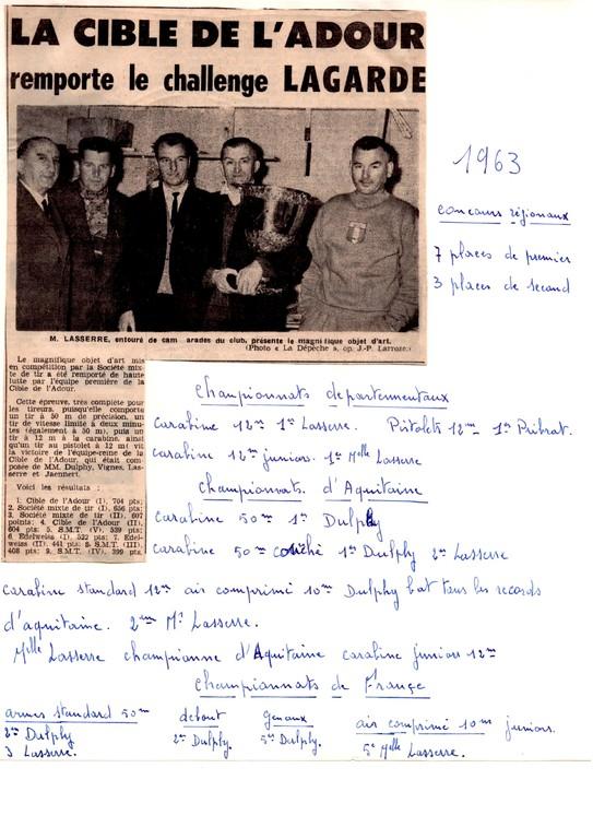 La presse en 1963