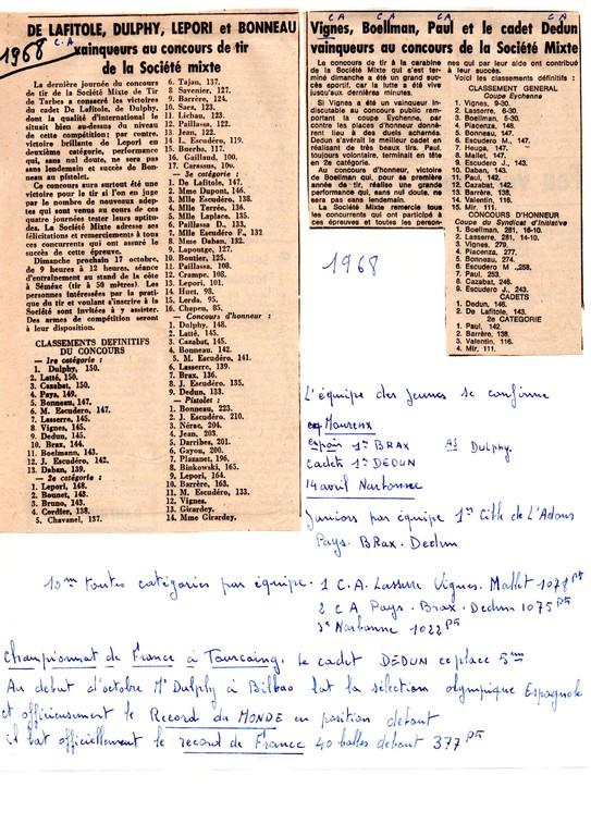La presse en 1968