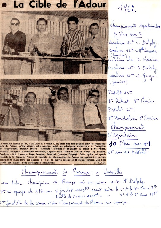 La presse en 1962