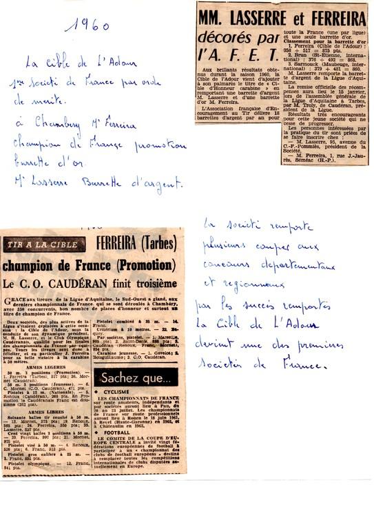 La presse en 1960
