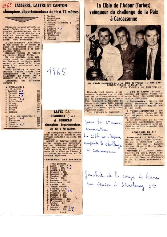 La presse en 1965
