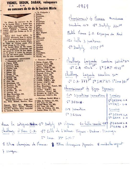 La presse en 1969