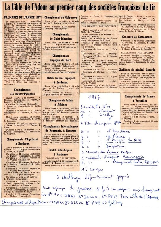 La presse en 1967