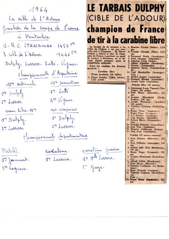 La presse en 1964