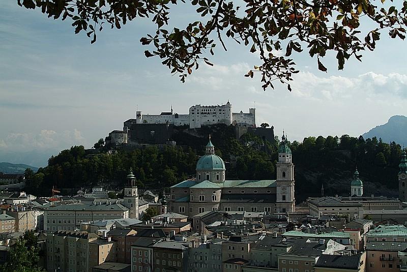 August 2003,  Festung Salzburg