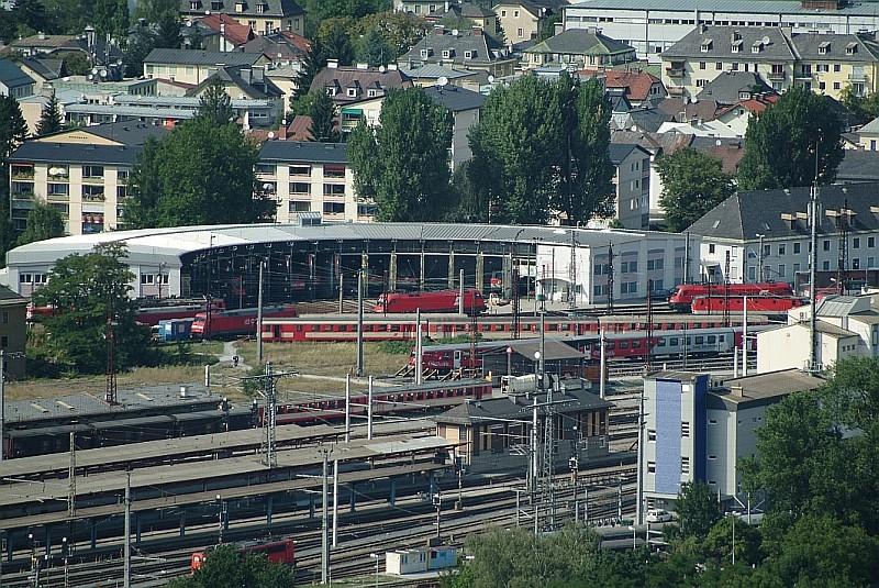 August 2003,   Heizhaus Salzburg
